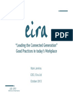 leading the connected generation - good practices in todays workplace - mark jenkins eira ltd