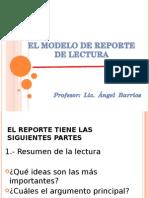 El Modelo de Reporte de Lectura