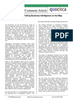 Putting Business Intelligence on the Map