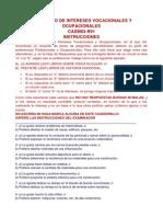 Inventario de Intereses Vocacionales y Ocupacionales