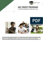 Aec Student Handbook - Winter2013-14 (2)