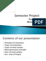 prsentation wind turbine