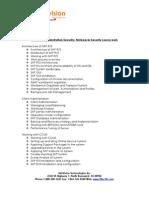 SAPBasis Security Netweaver Course Work