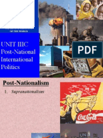 IR Lecture IIIC Post-Nationalism