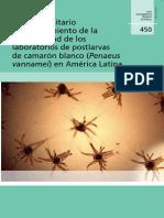 FAO MNEJO sANITARIO Y Mantenimiento Bioseguridad Post Larva Camaron America Latina