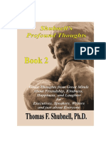 Profound Thoughts Book 2