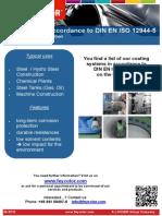 Flyer Beschichtungen Nach DIN en ISO 12944-5 En