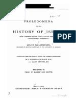 Prolegomena to the History of Israel