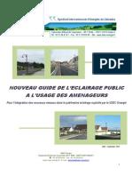 Guide Technique Eclairage Pour Amenageurs 2012