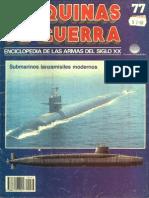 Maquinas de Guerra 077 - Submarinos Lanzamisiles Modernos