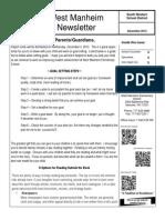 WM December 13 Newsletter