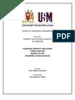 Passenger Aircraft Subsystems