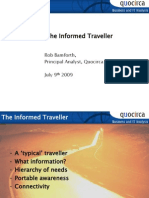 The informed traveller