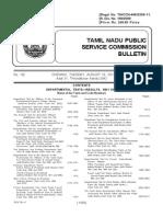 Bulletin 18 May 2011