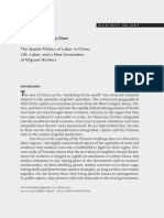 Pun and Chan - The Spatial Politics of Labor in China
