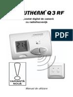 Termostat q3rf ( Manual)