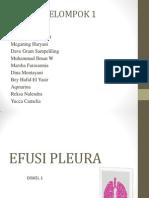 Pleno Efusi Pleura Mantep