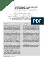 Anexo 8. Condiciones de trabajo producción de alimentos