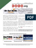 11213.org Issue 3 - 2 Teves 5774