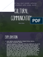 cultural communication unit