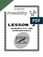 Pre Calculus Probability