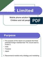 Global Marketing presentation on mobile