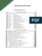 Evidencia de Actividades en Packet Tracer (Capitulo 11)