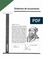 AlgebraII-IIISistemasDeEcuaciones