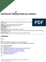 Capital Vol 3 by Karl Marx
