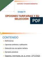 6 Opciones tarifarias
