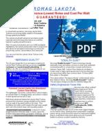 AEROMAG LAKOTA Dealer Brochure Wind Turbines