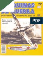 Maquinas de Guerra 072 - Cazas Aliados de La II Guerra Mundial
