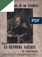 Benites Tulio - Meditaciones de Un Catolico Ante La Reforma Agraria