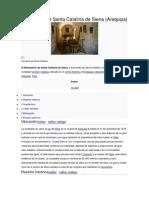 Monasterio de Santa Catalina de Siena (Arequipa)