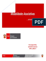 Modalidades Asociativas Min.produccion