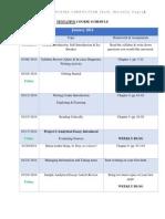 tentative course schedule eng 104