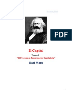 Karl Marx - El Capital - Tomo 1
