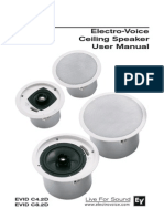 Ceiling Speaker User Manual