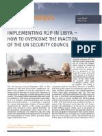 R2P in Libya