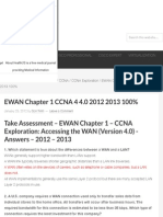 EWAN Chapter 1 CCNA 4 4.0 2012 2013 100% - HeiseR Dev Zone