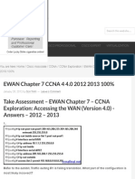 EWAN Chapter 7 CCNA 4 4.0 2012 2013 100% - HeiseR Dev Zone