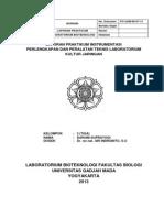 Laporan Instrumentasi Bioteknologi