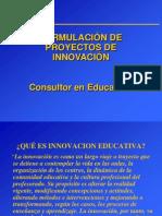 3.2 Formulacion de Proyectos de Innovacion