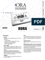 PX5D Owner's Manual