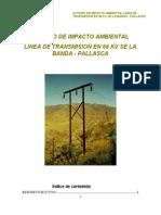 Linea de Transmision en 66 Kv Se La Banda - Pallasca