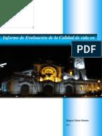 Informe de Calidad de Vida 2012