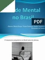 Saúde Mental no Brasil