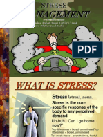 Presention on Stress Management-By VP