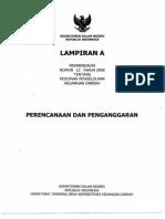 Lampiran a Permendagri 13 Tahun 2006