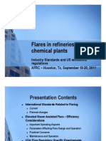 Flares in Refineries and Chemical Plants - Industry Standards and US Emissions Regulations